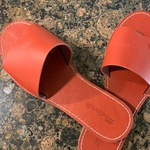 Madewell Boardwalk Post Slide Sandals